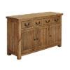 4 Drawer 3 Door Sideboard – Cotswold – Rustic Pine – Dining – Storage – Unit – Drawers – Door – Interior – Steptoes – Paphos – Cyprus (2)