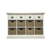 Walton 4 Drawer 8 Basket Unit