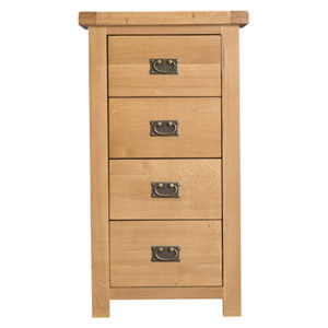 Windsor Country 4 Drawer Narrow Chest