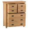 4 over 3 Chest-drawers-storage-bronze handles-oak-Bedroom-wooden-wood-furniture-Steptoes-paphos-cyprus (2)