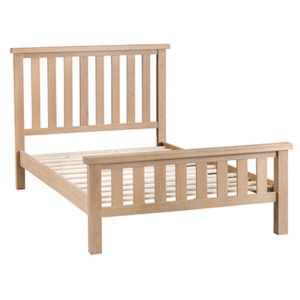 Windsor Limed 4'6FT Double Bed