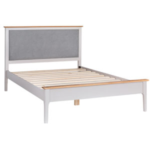 Bergen Beige 4'6 Double Size Bed