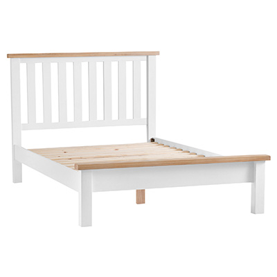 Suffolk White 4'6 Double Bed