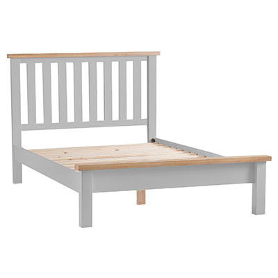 Suffolk Grey 4'6 Double Size Bed