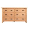 Lincoln Natural 6 Drawer Chest