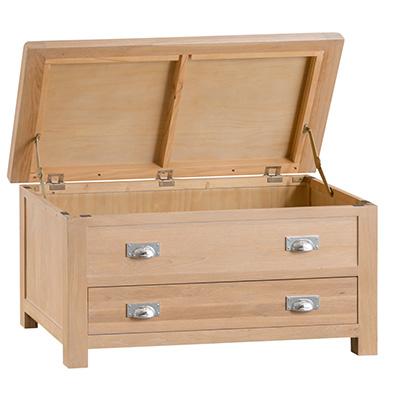 Windsor Limed Blanket Box