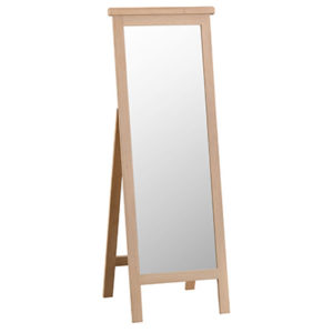 Windsor Limed Cheval Mirror