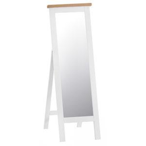 Suffolk White Cheval Mirror