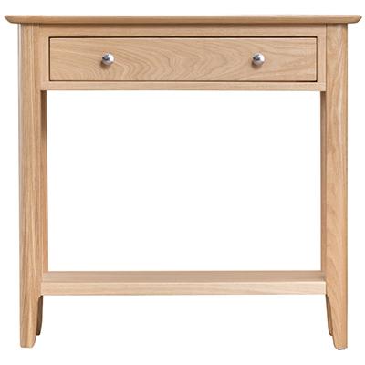 Bergen Oak Console Table