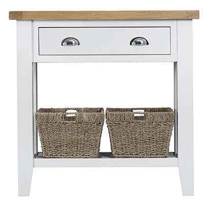 Suffolk White Console Table