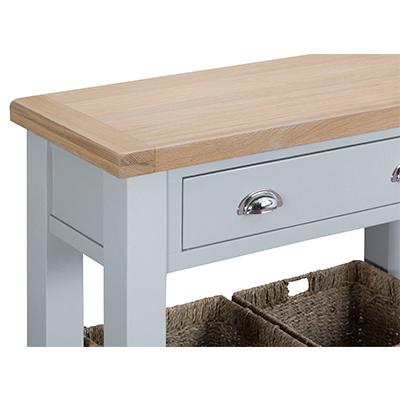 Suffolk Grey Console Table