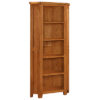 Lincoln Rustic Corner Bookcase