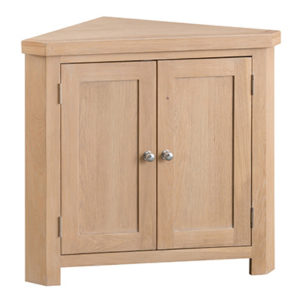 Windsor Limed Corner Cabinet