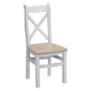 Cross back wooden seat chair-seating-grey-painted-lime washed oak top-wood-wooden-Dining-furniture-Steptoes-Paphos-Cyprus