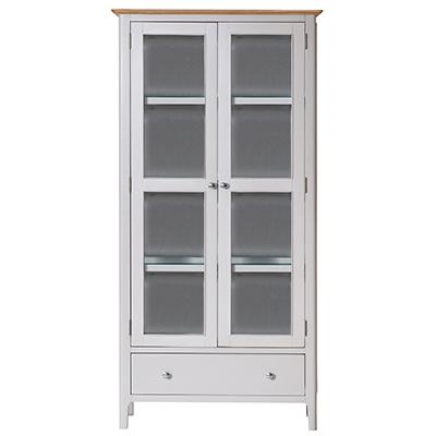 Bergen Beige Display Cabinet