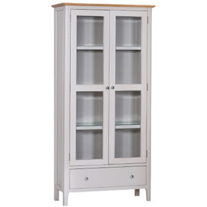 Bergen Beige Display Cabinet