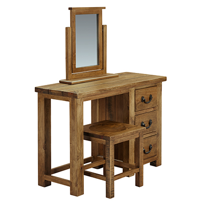 Cotswold 3 Drawer Dressing Table