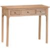 Bergen Oak Dressing Table
