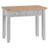 Dressing Table-drawers-vanity-grey-painted-lime washed top-wood-wooden-bedroom-furniture-Steptoes-Paphos-Cyprus