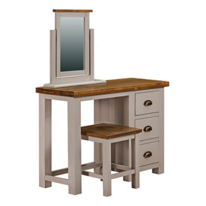 Norfolk Grey 3 Drawer Dressing Table
