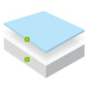 Gel 200 - Mattress - Single - Double - King - Cool Gel - Memory Foam - Bedroom - Bed - Sleep - Comfort - Furniture - Paphos - Cyprus - Steptoes - Mlily (2)
