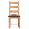 Lincoln Natural Ladder Back Dining Chair