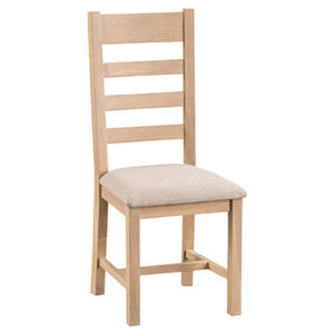 Windsor Limed Ladder Back Chair