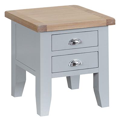 Suffolk Grey Lamp Table