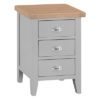 Large Bedside Cabinet-drawer-chest-storage-grey-painted-lime washed top-wood-wooden-bedroom-furniture-Steptoes-Paphos-Cyprus