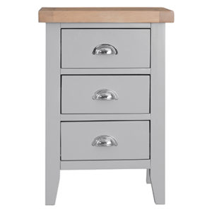 Suffolk Grey Large Bedside Cabinet