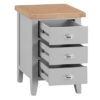 Large Bedside Cabinet-drawer-chest-storage-grey-painted-lime washed top-wood-wooden-bedroom-furniture-Steptoes-Paphos-Cyprus (3)