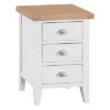 Suffolk White Large Bedside Cabinet