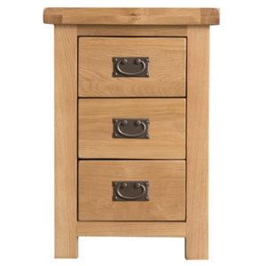 Windsor Country Large 3 Drawer Bedside Cabinet