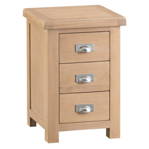 Windsor Limed Large Bedside Cabinet