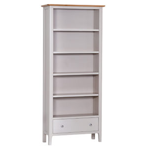 Bergen Beige Large Bookcase