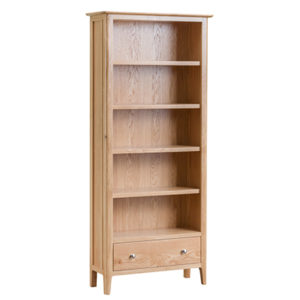 Bergen Oak Large Bookcase