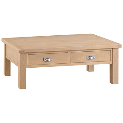 Windsor Limed Large Coffee Table