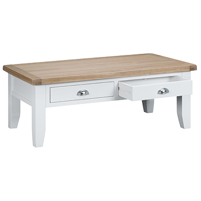 Suffolk White Large Coffee Table