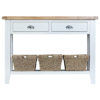 Suffolk White Large Console Table