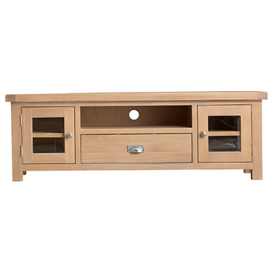 Windsor Limed Large TV Unit