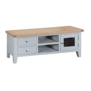 Suffolk Grey Large TV Unit
