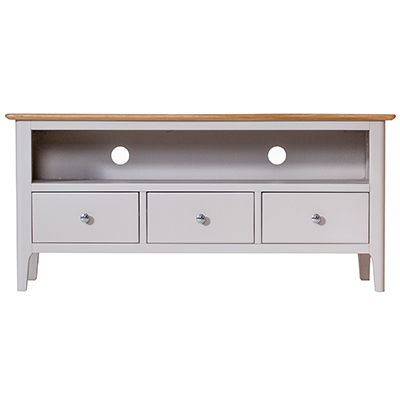 Bergen Beige Large TV Unit