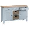 Large sideboard-storage-cupboard-drawer-doors-grey-painted-lime washed oak top-wood-wooden-Dining-furniture-Steptoes-Paphos-Cyprus (2)