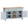 Large sideboard-storage-cupboard-drawer-doors-grey-painted-lime washed oak top-wood-wooden-Dining-furniture-Steptoes-Paphos-Cyprus (3)