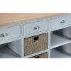Large sideboard-storage-cupboard-drawer-doors-grey-painted-lime washed oak top-wood-wooden-Dining-furniture-Steptoes-Paphos-Cyprus (4)