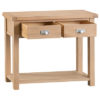 Windsor Limed Medium Console Table