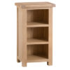 Windsor Limed Small Narrow Bookcase