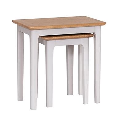 Bergen Beige Nest of 2 Tables