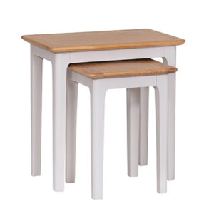 Bergen Beige Nest of 2 Tables
