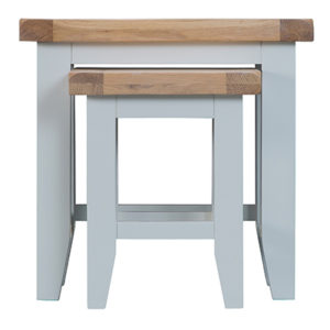 Suffolk Grey Nest of 2 Tables